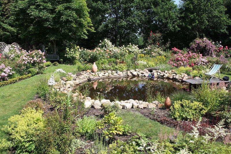Siemer gartenbau gartenteichbau und wasserspiele im for Teichanlage selber bauen